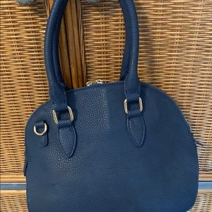 Light navy blue  Le chateau bag. Used once